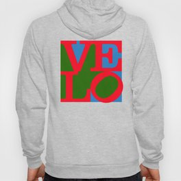 Velo Love – Logo – June 12th – 200th Birthday of the Bicycle Hoody