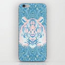 Pastel Quartz Tiger iPhone Skin