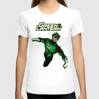green lantern T-shirts featuring Green Lantern by Metalot