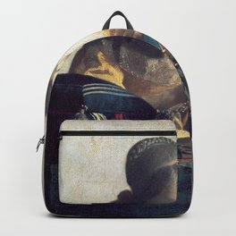 Johannes Vermeer - The Lacemaker Backpack