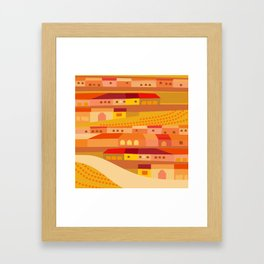 New England Latin Framed Art Print