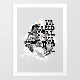 Vandal Art Print