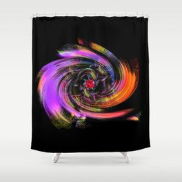 Flowers magic roses 7 Shower Curtain