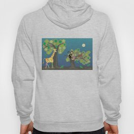 Giraffe & friends Hoody