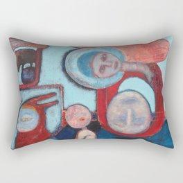 Madonna de la Cabeza Rectangular Pillow