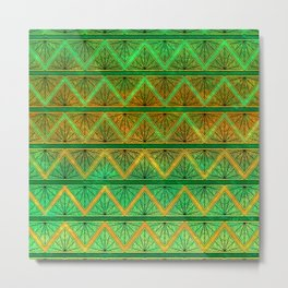 Green Jubilation Metal Print