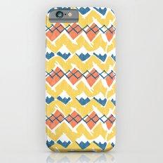 Linocut Tribal iPhone 6s Slim Case