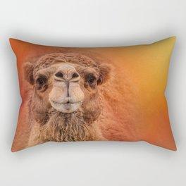 Dromedary Camel Rectangular Pillow