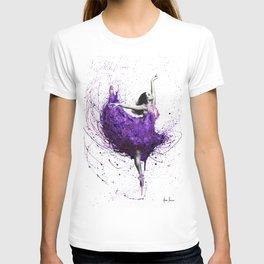 Purple Rains Ballet T-shirt