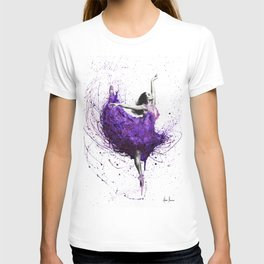 Purple Rains Ballet T-shirt