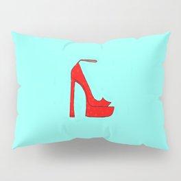 Red Shoe Pillow Sham