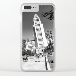 L.A. City Hall Clear iPhone Case