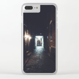 old creepy Clear iPhone Case