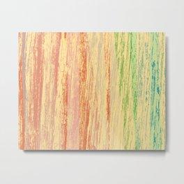 cascada de colores Metal Print