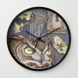 Keepers of Forbidden Knowledge Wall Clock