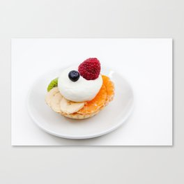 pie of cake Canvas Print