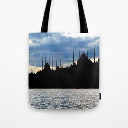 Sultanahmet Camii Skyline Istanbul Turkey Tote Bag