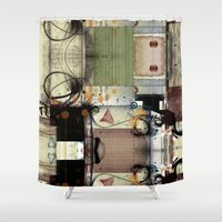picasso Shower Curtains featuring Everyday Picasso by Robin Curtiss