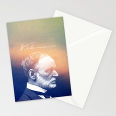 Reports from Hell. Sherman. 1820-1891. Stationery Cards