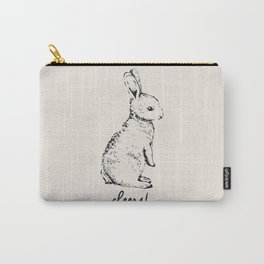 cheers little bunny Carry-All Pouch