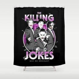 The Killing Jokes Shower Curtain