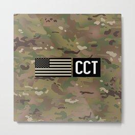 CCT (Camo) Metal Print