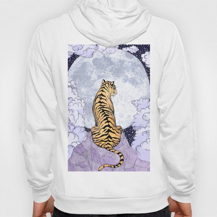 Tiger Moon | Colour Version Hoody