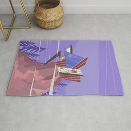 House of the future! Rug