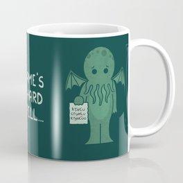 Monster Issues - Cthulhu Coffee Mug