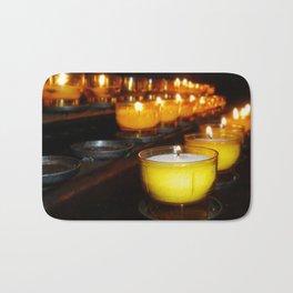 Church Candles Bath Mat