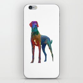 Great Dane Uncropped iPhone Skin