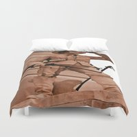 battlefield Duvet Covers featuring Battlefield by Photaugraffiti