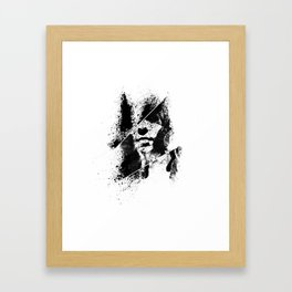 HELLO // GOODBYE Framed Art Print