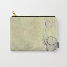 Cute Elephant II Carry-All Pouch
