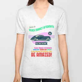 Vintage Car Band Unisex V-Neck