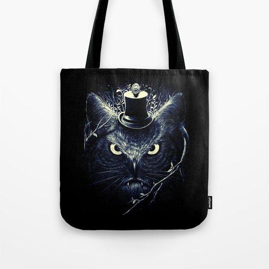 Meowl (Blue) Tote Bag