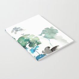 tropical watercolor Notebook