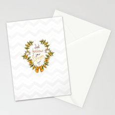 Flower laurel Stationery Cards