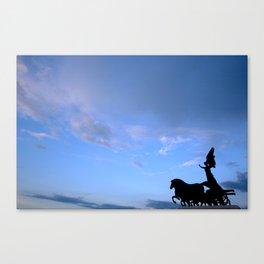 Sky chariot Canvas Print