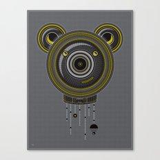 Peace, Love, Panda Canvas Print