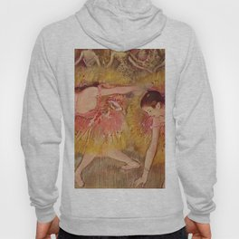 Dancers Bending Down 1885 By Edgar Degas | Reproduction | Famous French Painter Hoody