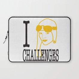 I __ Challenges Laptop Sleeve