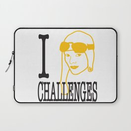 I __ Challenges Laptop Sleeve