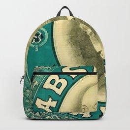 Vintage 1898 Absinthe Blanqui Alcoholic Beverage Advertising Poster Backpack