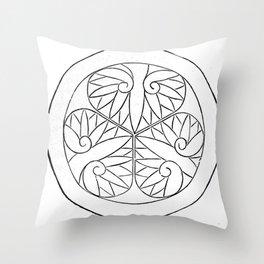 Tokugawa Throw Pillow
