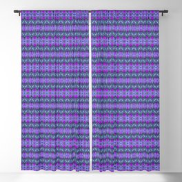 Moroccan Purple Blackout Curtain