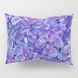 Lilac Petals Pillow Sham