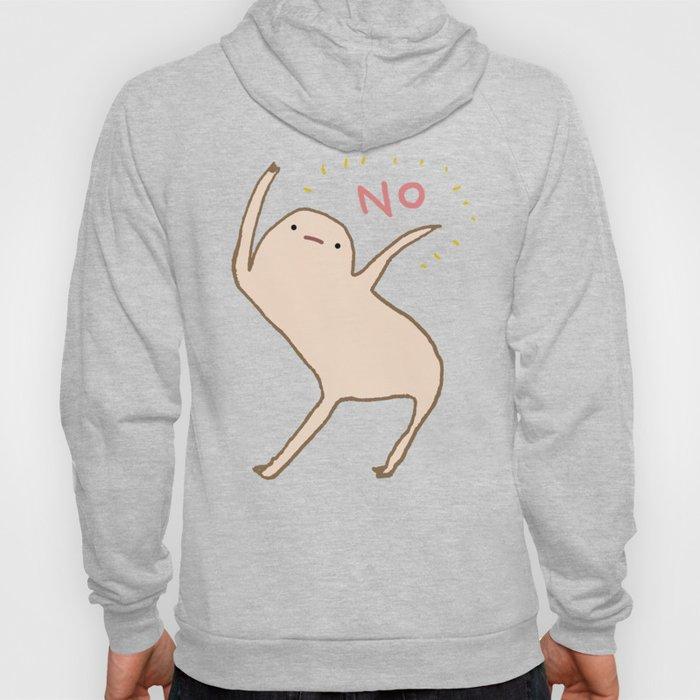 Honest Blob Says No Hoodie