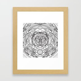 Pancuecuetlacayan level from the mexican underworld Framed Art Print