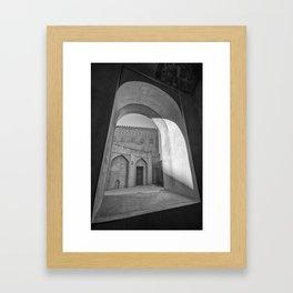 Jabreen Castle, Oman Framed Art Print